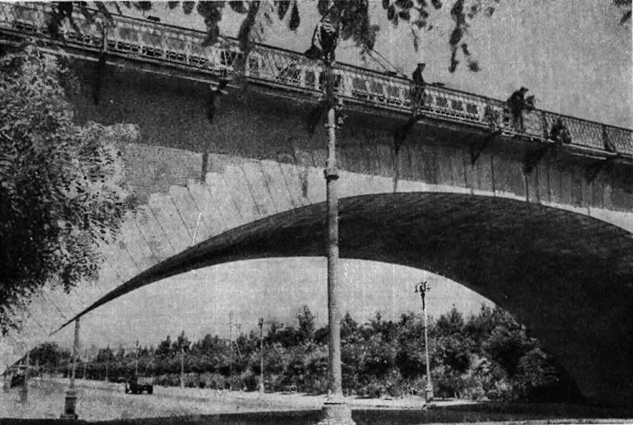 Михайловский мост в Тбилиси