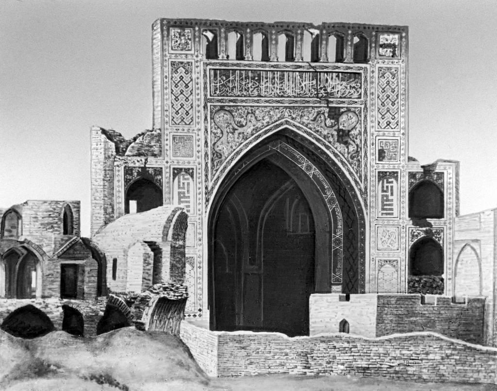 Мечеть Анау