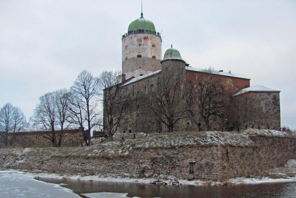 Башня Олафа в Выборге