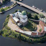 Крепость в Выборге и ее башня Олафа