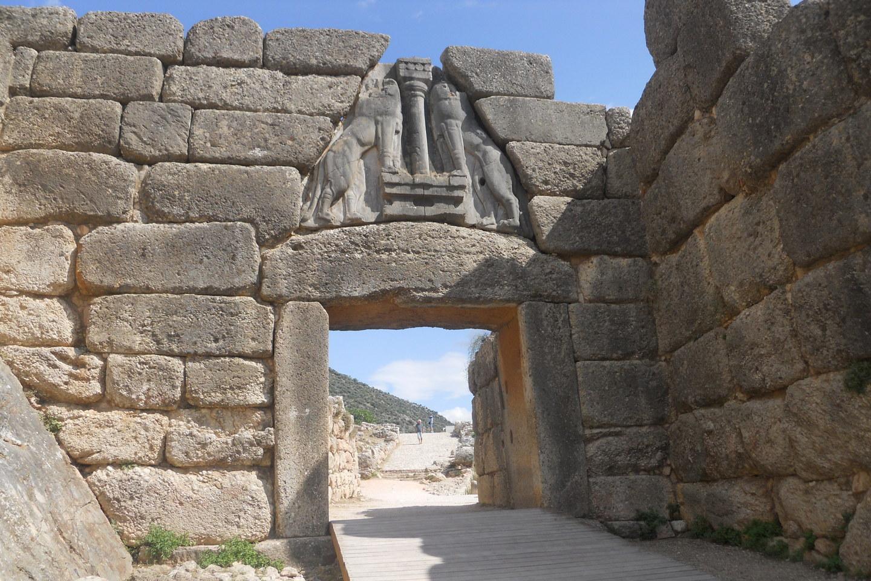 Львинные ворота в Италии
