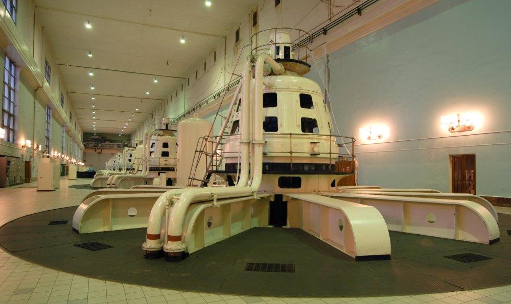 Оборудование внутри станции