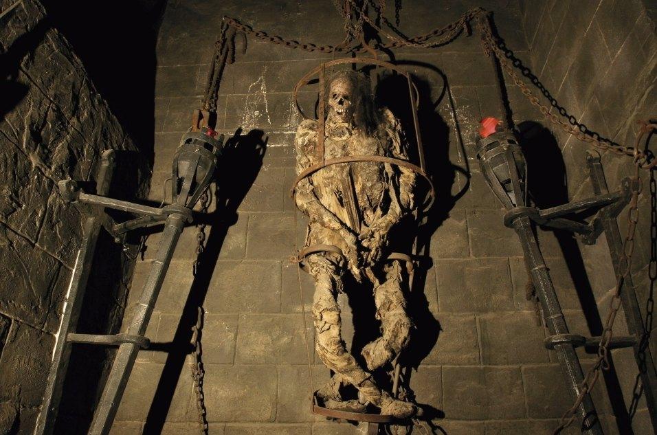Экспонат зловещего музея