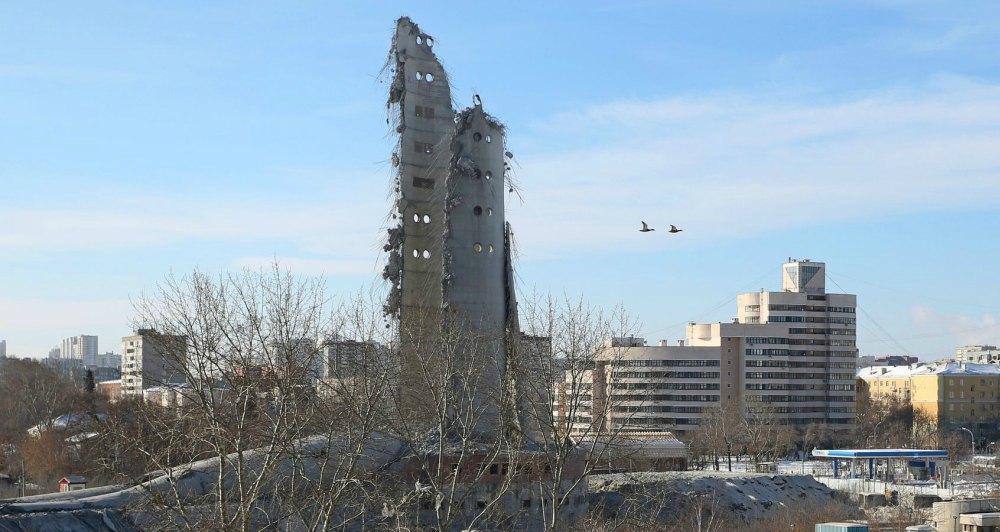 Остатки после взрыва