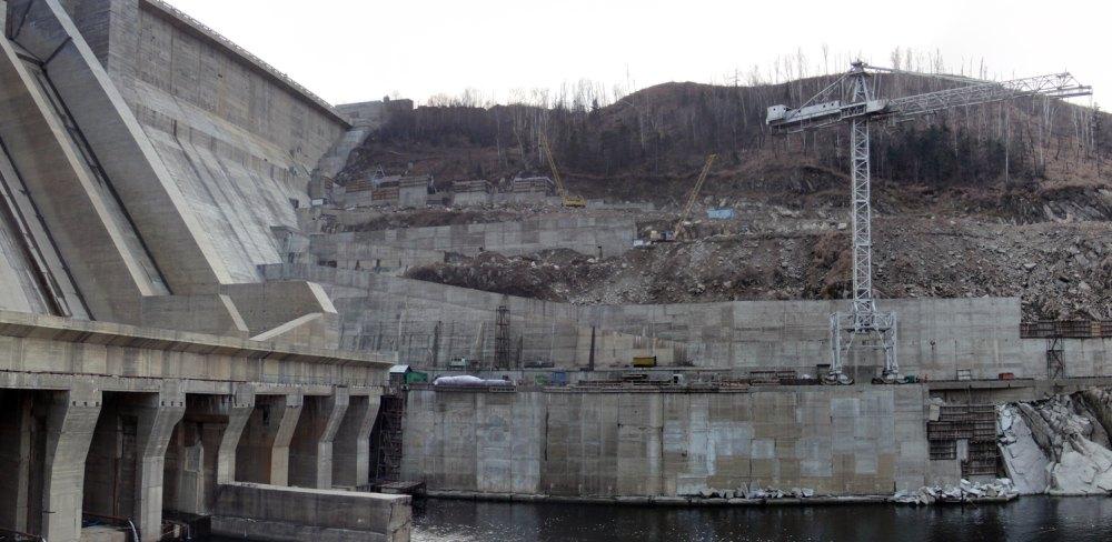 Фото ГЭС прошлых лет