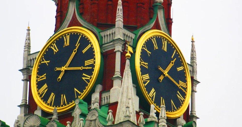 Циферблаты кремлевсих часов