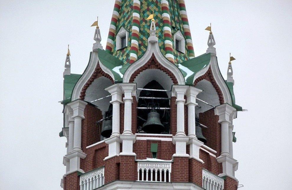 Колокола Спасской башни