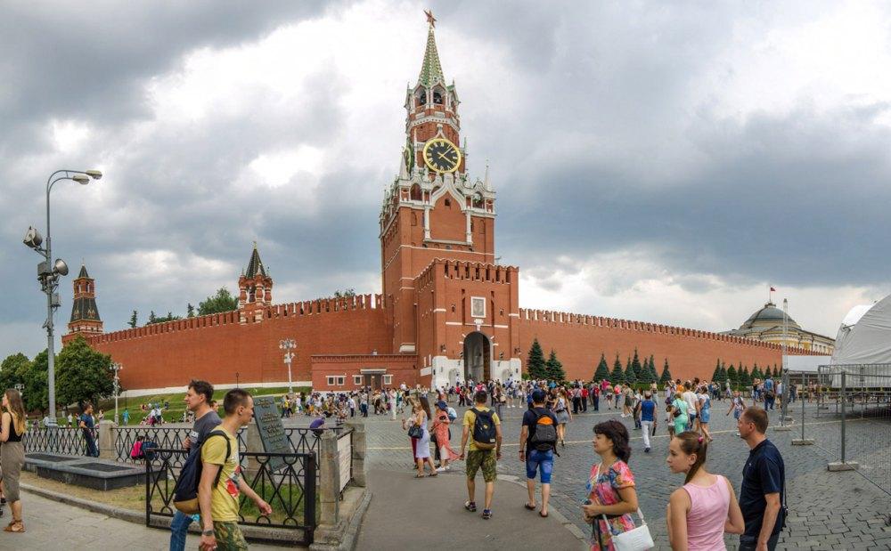 Вид на современный Кремль
