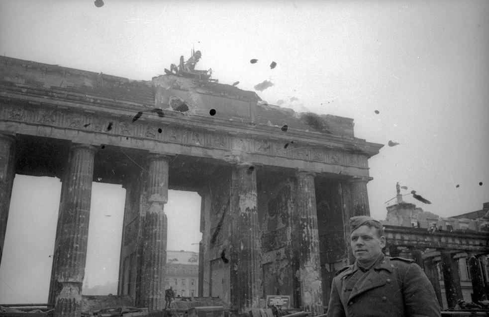 Разрушения во время Второй мировой