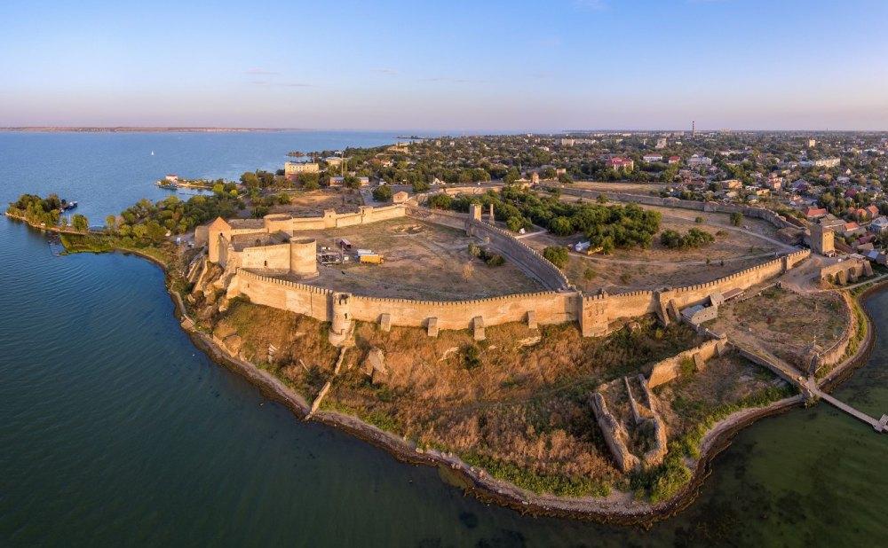 Древняя турецкая крепость