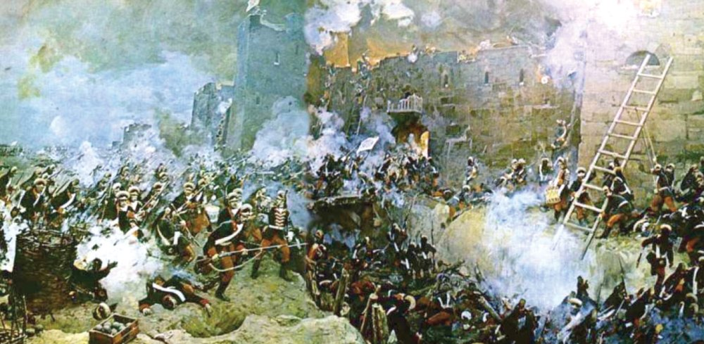 Тяжелый исторический бой