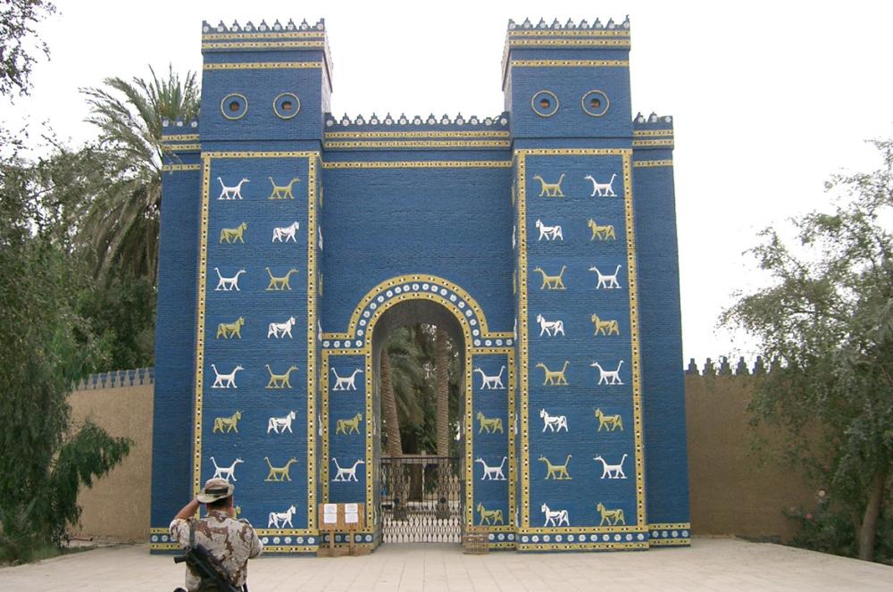 Ворота Иштар в Ираке