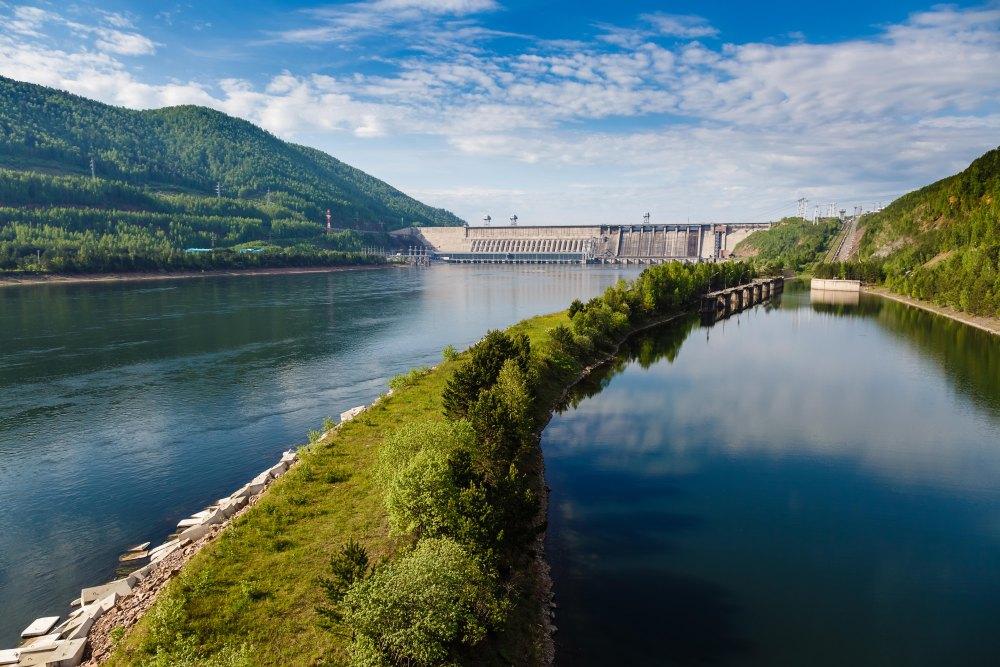 Природа вблизи ГЭС