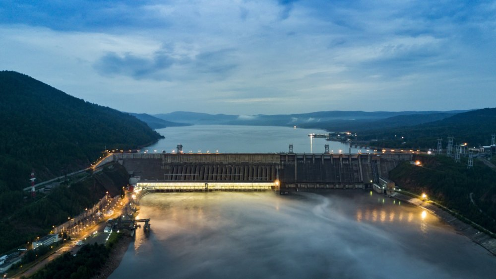 Первая ГЭС на Енисее