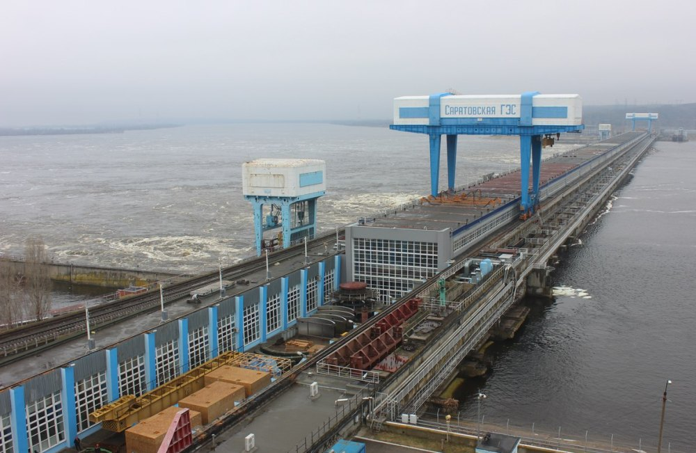 Саратовская гидроэлектростанция