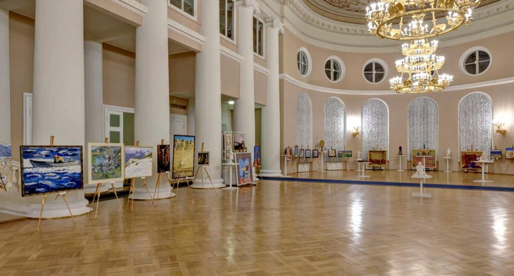 Выставка во дворце