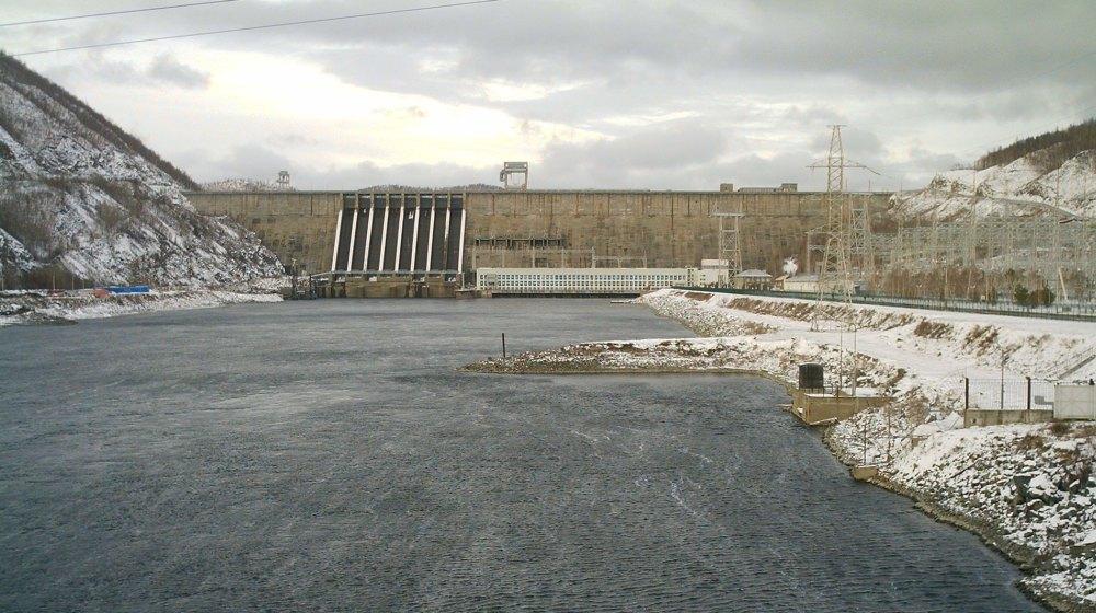 Плотина Зейской ГЭС