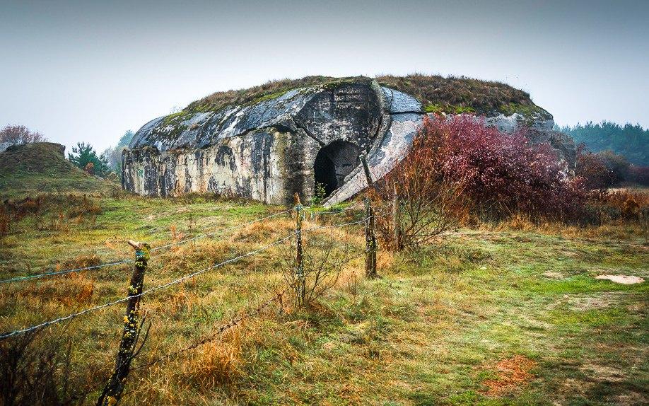 Остатки Осовецкой крепости