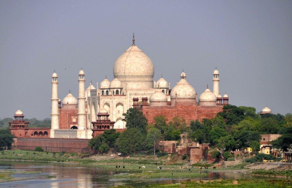 Индийский мавзолей Тадж-Махал