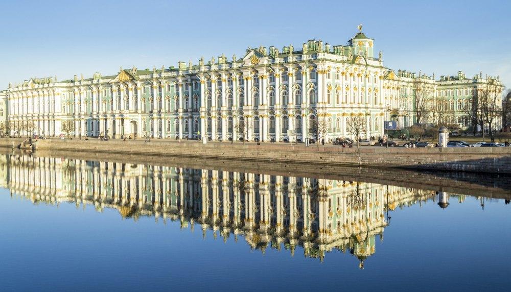 Зимний дворец, общий вид