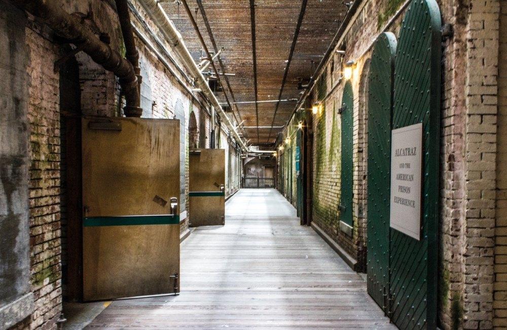 Проход внутри тюрьмы