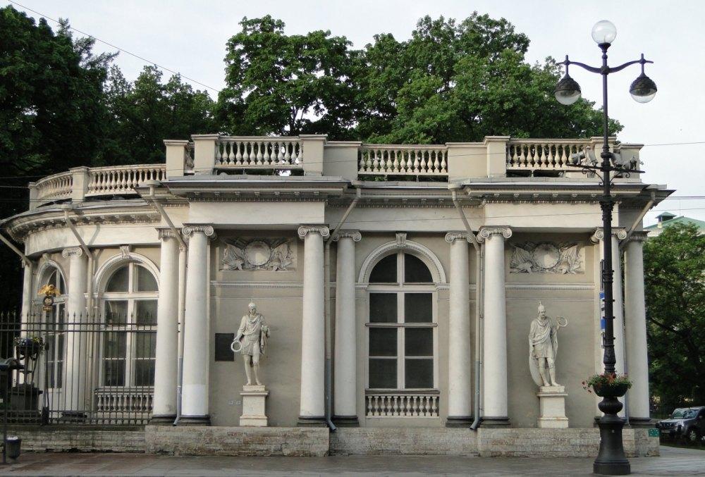Павильон дворца