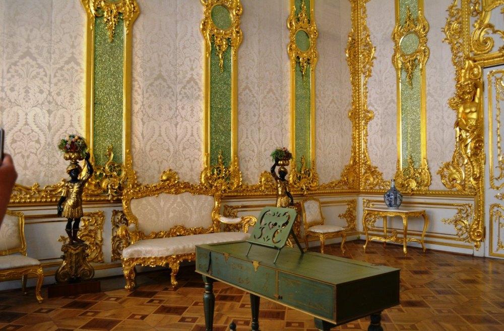 Интерьер дворца в Пушкино