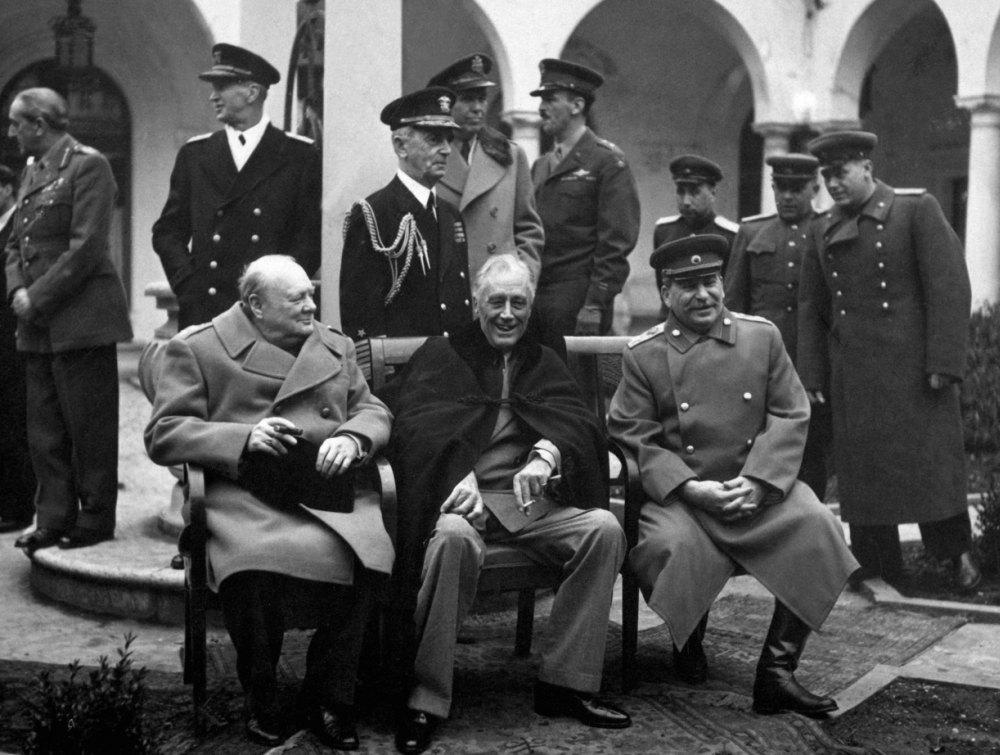 Ялтинская конференция во время ВОВ