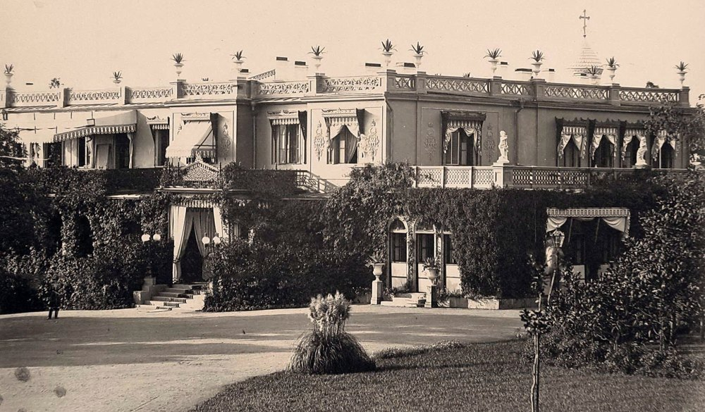 Дворец в царские времена
