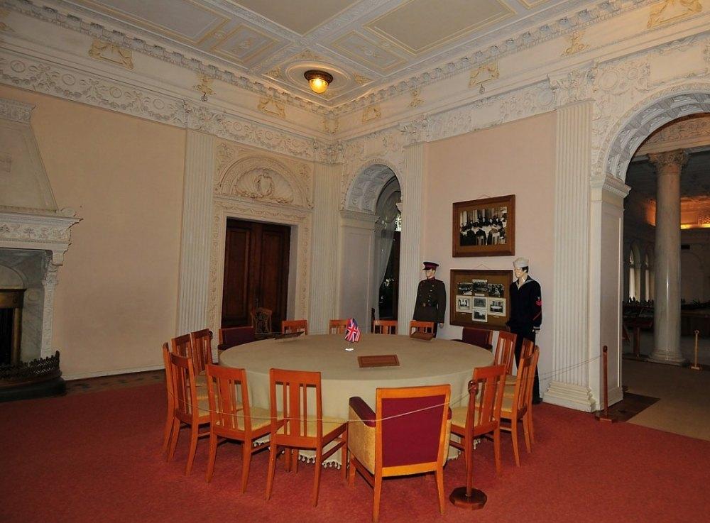 Ливадийский дворец внутри