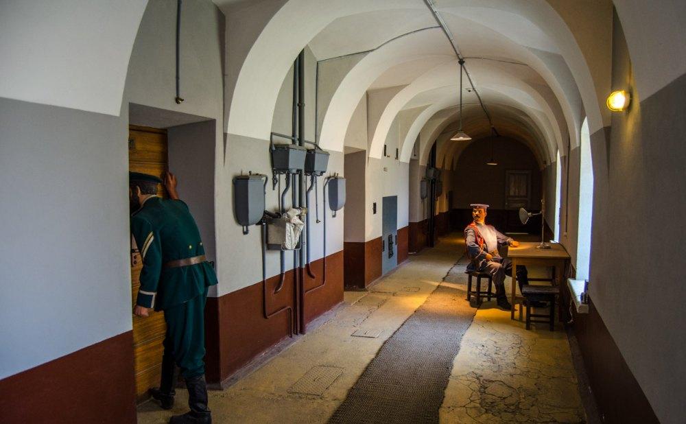 Тюрьма Трубецкого бастиона в музее
