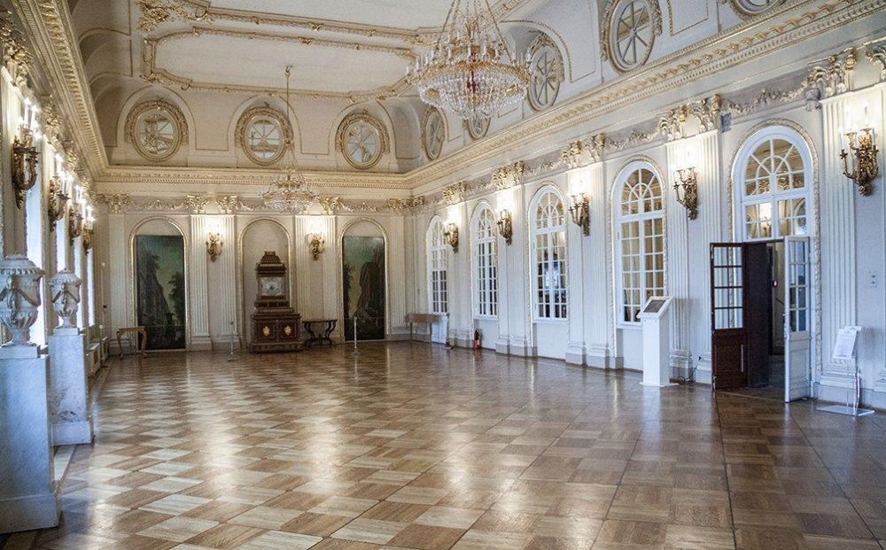 Зал дворца Меншикова