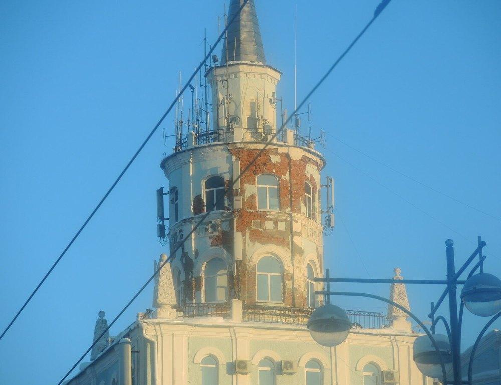 Реконструкция башни