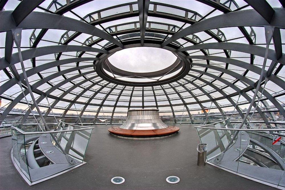 Внутри купола