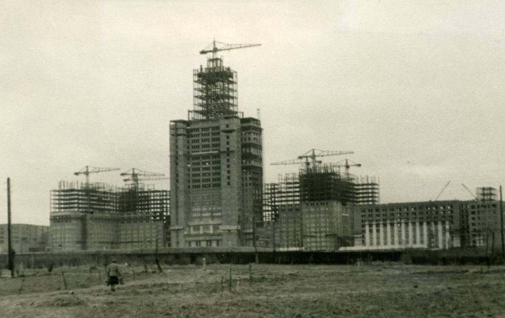 Строительство МГУ