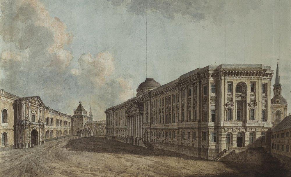 Так выглядел дворец при Екатерине II