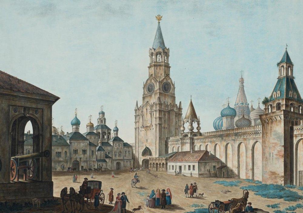 Кремль в прошлом, рисунок