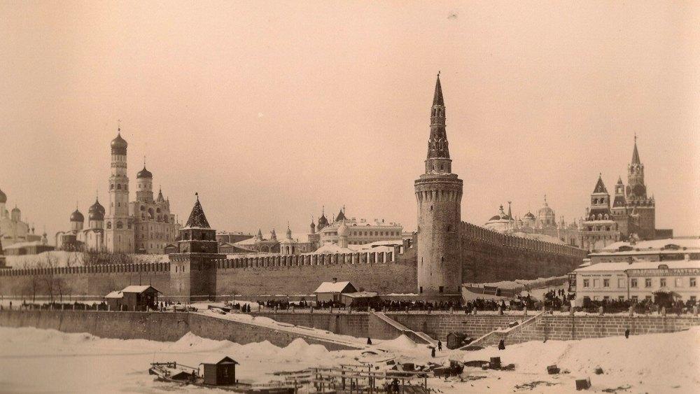 Московский Кремль до революции