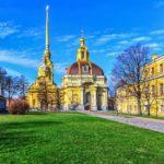 Петропавловский собор в Санкт-Петербурге в Петропавловской крепости