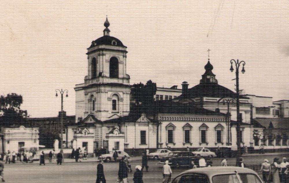 Храм Преображения Господня, 60-е годы