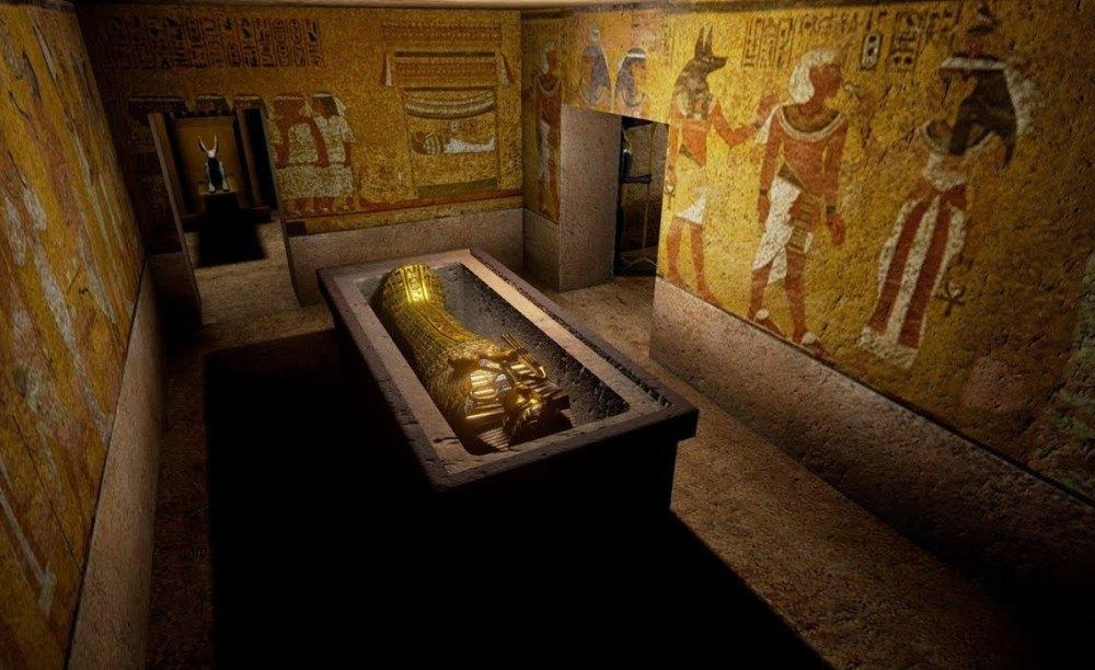 Гранитный саркофаг