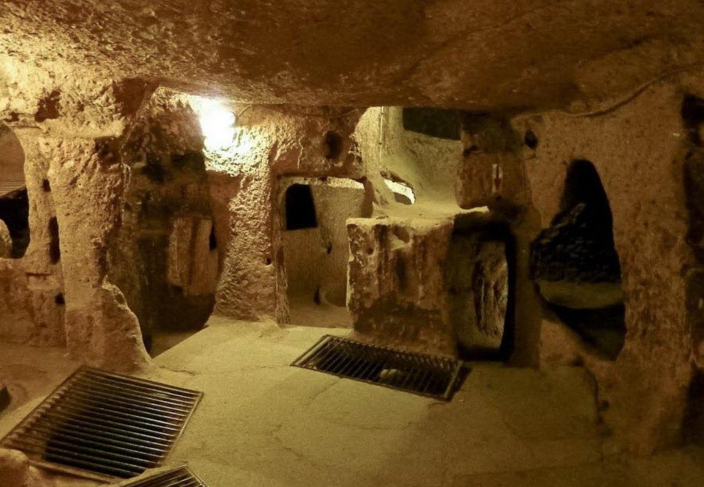 Деринкую – древний подземный город