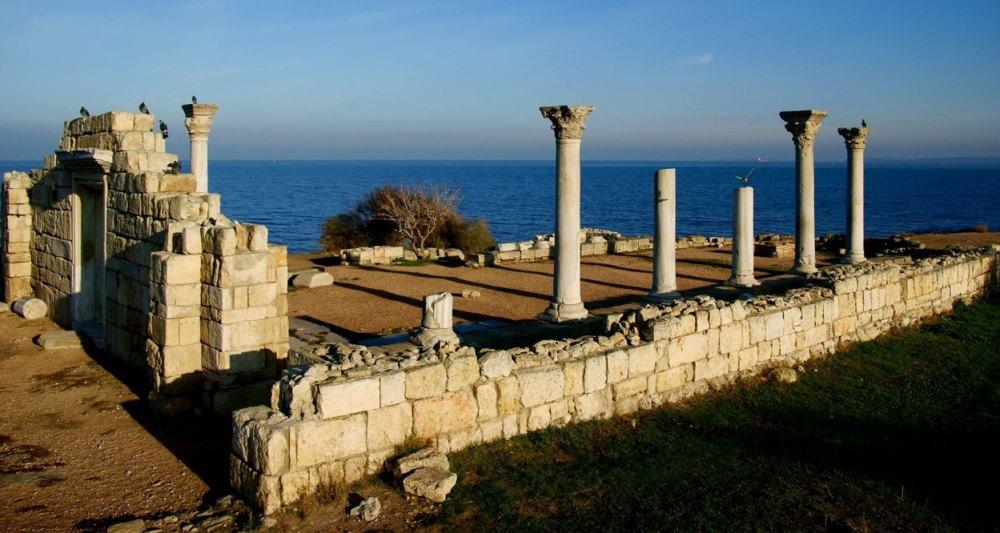 Руины древнего Херсонеса