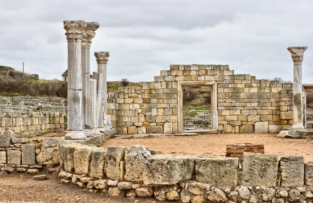 Руины Херсонеса