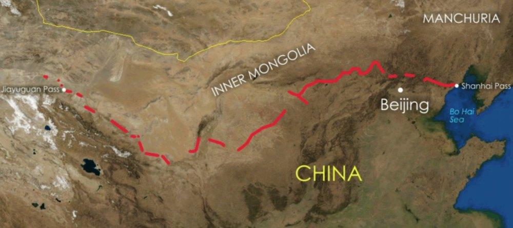 Стена на карте