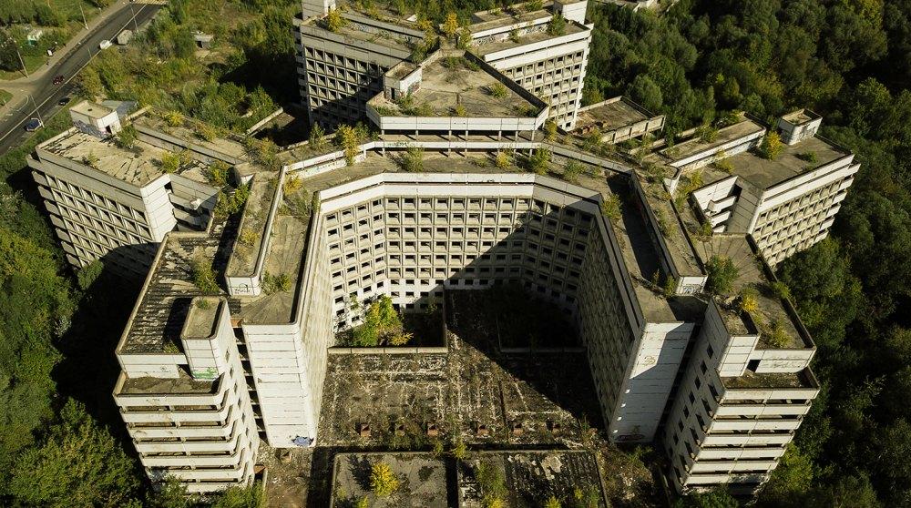 Заброшенная больница в Ховрино