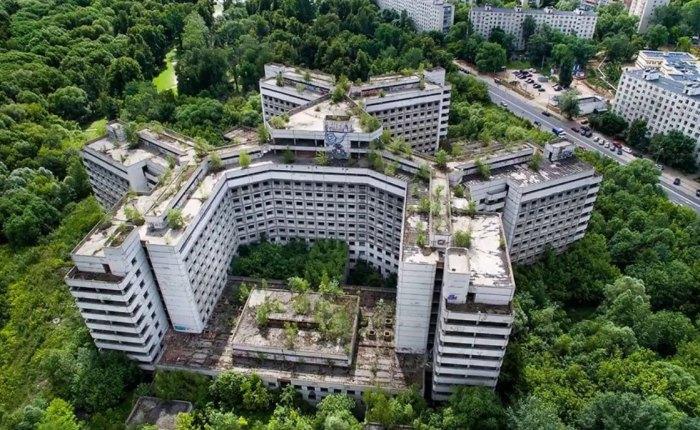 Больница на 1300 койко-мест