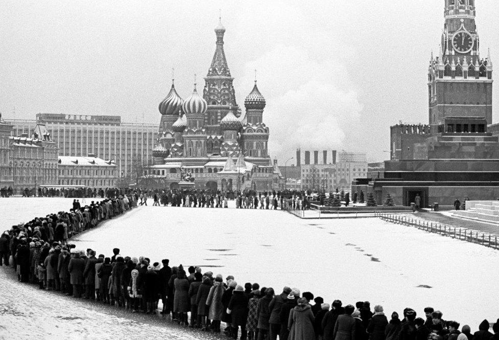 Очередь к Ленину