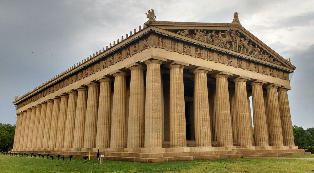 Реконструкция, таким был храм