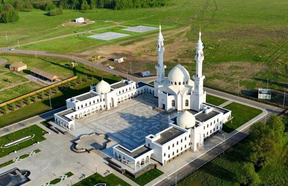 Белая мечеть в Болгаре, вид сверху